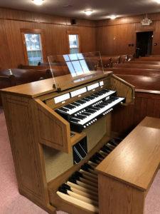 Allen CF-4 - St Anna's Epsicopal Church, Atmore, Alabama